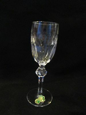 "WATERFORD Curraghmore Cut Pattern Sherry Wine Glass 6"" With Original Label"
