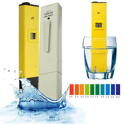 Digital LCD PH Meter TDS EC Water Purity PPM Filter Hydroponic Pool Tester AU