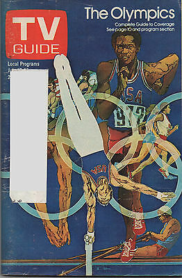 1976 TV Guide The Olympics Complete Guide to Coverage July 17 - 23