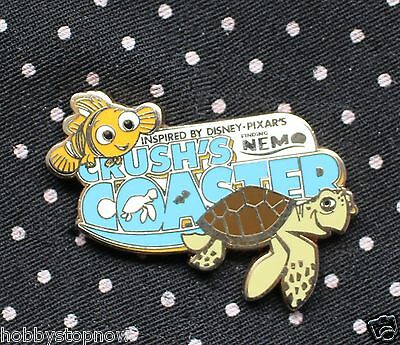 Disney Pin DLRP Crush's Coaster Finding Nemo and Crush BD2