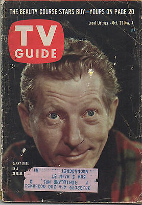 1960 TV GUIDE Danny Kaye In A Special Oct. 29-Nov. 4
