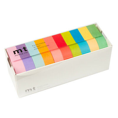 NEW MT Washi Tape Pastel 10pk