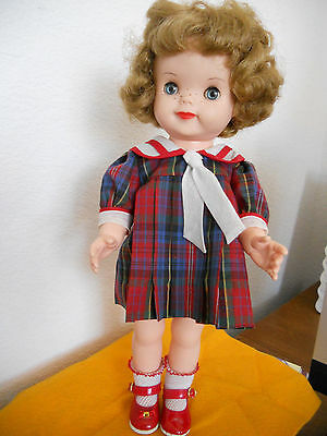 """VINTAGE 1959 PATSY ANN 15"""" DOLL with freckles EFFANBEE"""