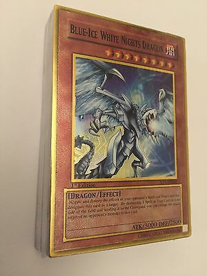 Blue Ice White Nights Dragon Sealed Deck Rare?