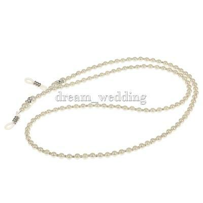 Imitation Pearls Bead Chain Strap Cord for Spectacles Sun Glasses Eyeglasses