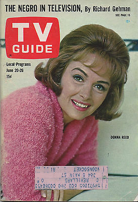 1964 TV GUIDE Donna Reed June 20-26