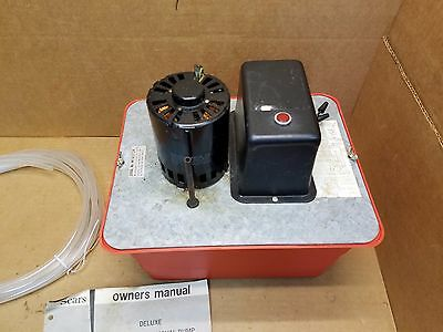 Vintage Sears-Roebuck Deluxe Condensate Removal Pump 25' Lift, 2 Gallons Tank
