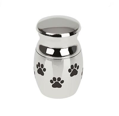 Mini Small Urn For Pet Dog Ashes -Cremation Memorial Keepsake Memory