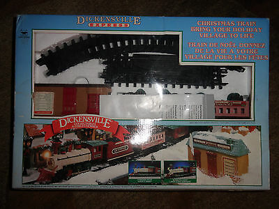 Dickensville Express Christmas Train 1996 still in package (new)