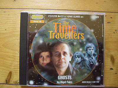 The Time Travellers Ghosts. 1999 BBV audio book CD, RARE.