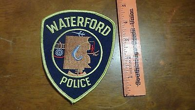 Waterford Michigan Police Department  Obsolete  Patch  Bx G #46
