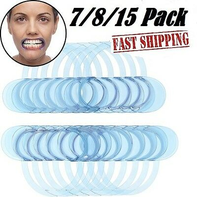 7-15pcs Reusable Oral Cheek Mouth Lip Retractor Opener Speak Out Game Dental USA