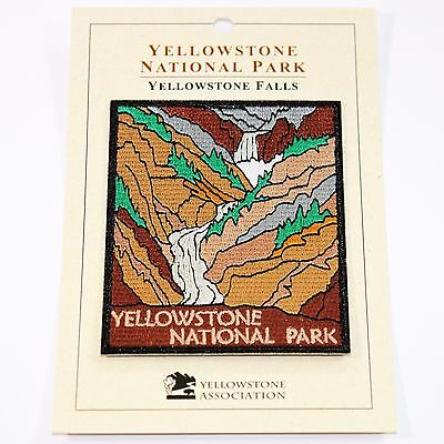 Official Yellowstone National Park Souvenir Patch Inspiration Point Wyoming