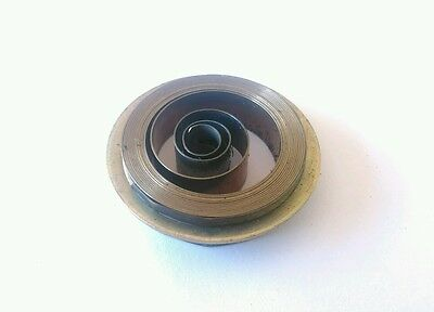 French & German Hole End Clock Mainspring Height 15mm Diameter 35mm Force 0.35