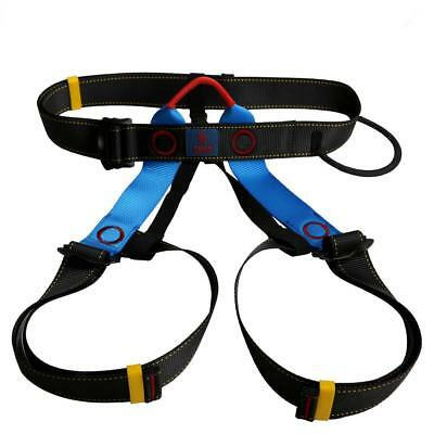 Tree Carving Abseiling Rock Climbing Safety Rappelling Harness Sitting Belt