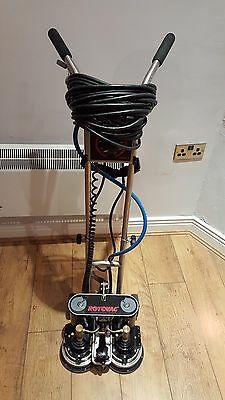 Rotovac DHX Power wand Carpet Cleaning