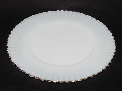 """SET OF FOUR Gold-Trimmed Monax """"PETALWARE"""" Luncheon Plates!"""