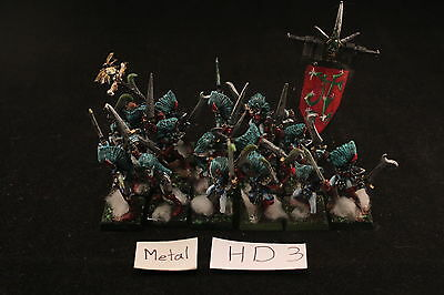 Warhammer Dark Elves Witches Well Painted Metal