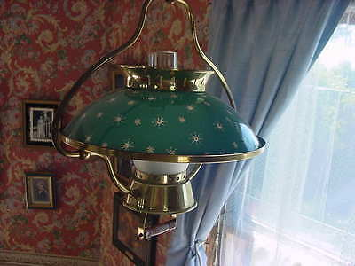 Vintage Lighting 1940s ceiling pendant   Ideal for Rustic Cabin