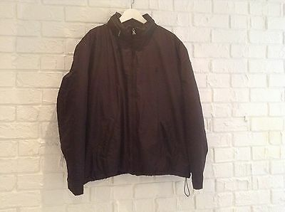 Men's Polo black jacket with collared hood