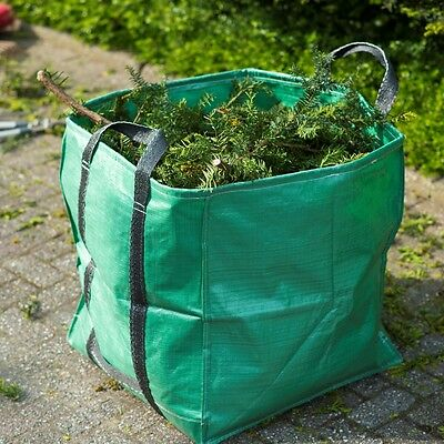 Nature Garden Leaves Waste Rubbish Bag 2 Handles 325L Reusable Recycling 6072401