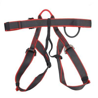 Half Body Sit Harness Belt for Outdoor Rock Tree Climbing Rappelling Rescue