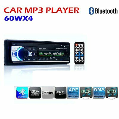 12V Bluetooth Car MP3 Stereo Radio Player SD/USB Aux In FM Receiver In Dash