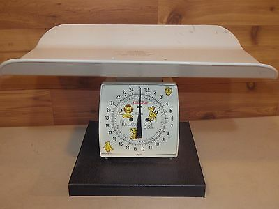 Vintage Sunbeam Nursery Baby Scale, Great Condition - Free Shipping!