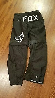 34 fox nomad pants MX over the boot motorcross