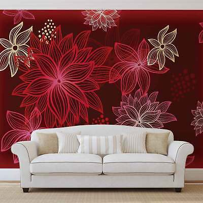 WALL MURAL PHOTO WALLPAPER XXL Flowers Forest Nature (254WS)