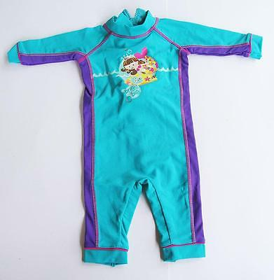 #R14 NEW Baby Girls Size 000 0-3 months One Piece Rashie swimsuit Cossies
