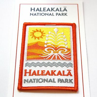 Official Haleakalā National Park Souvenir Patch Maui Hawaii Haleakala