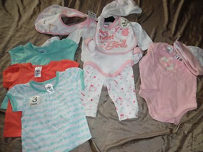 Bundle Baby Girls Size 000 (0-3 Months) Clothing - Brand New With Tags - Cute