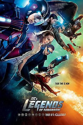 LEGENDS OF TOMORROW DC COMICS collection 11X17 Movie Poster collectible