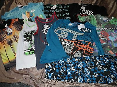Bundle Boys Size 10 Brand New With Tags Summer Clothing Inc Ford/mario