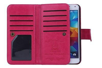 New Luxury Leather Detachable Wallet Flip Case For Samsung Galaxy S 5 V + Strap
