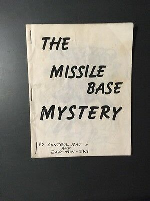 The Missile Base Mystery Comic By Bill Barminski Tex Hitler