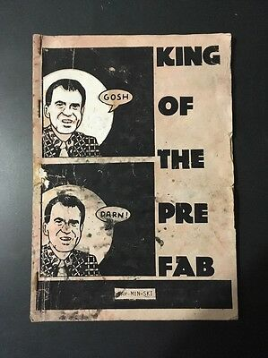 "Tex Hitler King of the Pre Fab"" Comic 1984 - Signed By Bill Barminski"