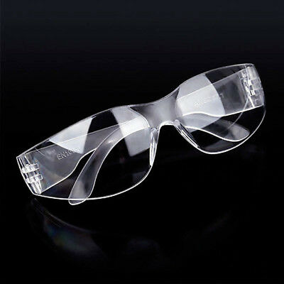 10x Clear Lab Safety Anti Fog Dust Smoke Eye Protective Vented Glasses Goggles