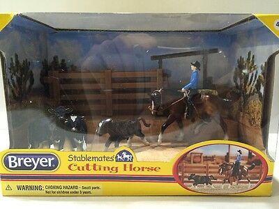Breyer Stablemate Cutting Horse Gift Set 2014
