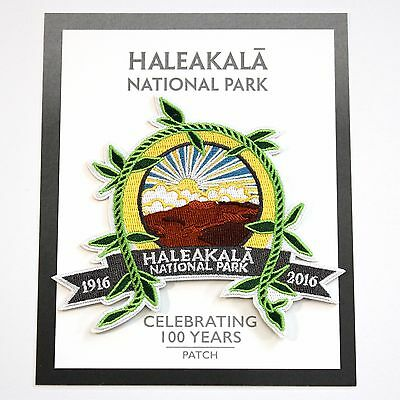 Haleakalā National Park Centennial Souvenir Patch Maui Hawaii 2016 Haleakala