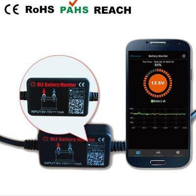 Bluetooth 12V Vehicle Car Battery Monitor iOS & Android Compatible Smartphone