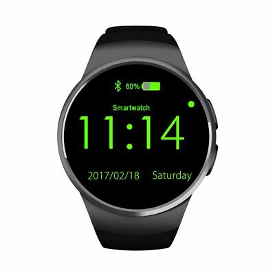 KW18 Bluetooth Smart Watch Orologio Intellige SIM GSM Per iPhone Android Samsung