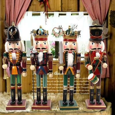 Wooden Guard Nutcracker German Walnut Soldiers Christmas Gift Home Decoration