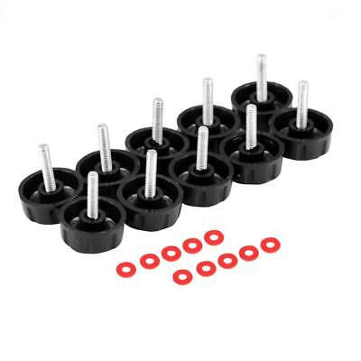 10pc 2mm Spare Screws Nuts for Fishing Spinning Reels Knob Power Handle Grip