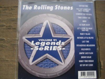LEGENDS Karaoke CDG All Hits of The ROLLING STONES Vol. 1
