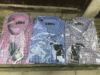 Job Lot x 24 pieces Mens Vouet Long sleeved shirts - Various Colours Sizes M 4xl
