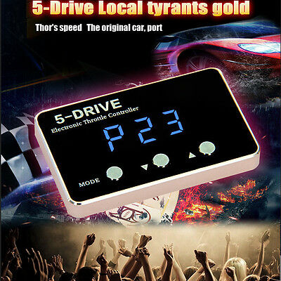 Gold 5-Drive Electronic Throttle Controller For FORD MONDEO MAZDA 3/5 VOLVO C30