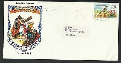 Lesotho - 1985 Cacheted Cover To Australia - 1 Stamp - Z668