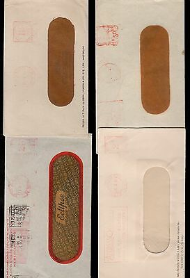 Australia 4x postage paid window covers see scans x2